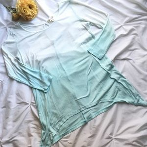 ⚡️Ellie & Kate dip dyed tunic